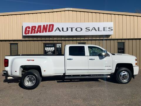 2019 Chevrolet Silverado 3500HD for sale at GRAND AUTO SALES in Grand Island NE