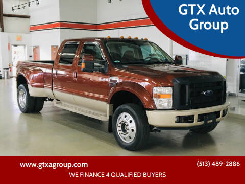 2008 Ford F-450 Super Duty for sale at GTX Auto Group in West Chester OH