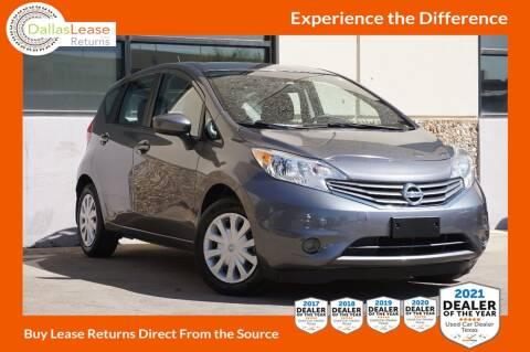 2016 Nissan Versa Note for sale at Dallas Auto Finance in Dallas TX