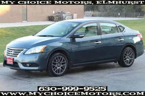 2014 Nissan Sentra for sale at My Choice Motors Elmhurst in Elmhurst IL