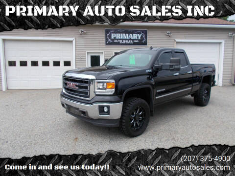 2014 GMC Sierra 1500 for sale at PRIMARY AUTO SALES INC in Sabattus ME