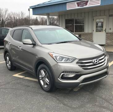 2017 Hyundai Santa Fe Sport for sale at Clapper MotorCars in Janesville WI