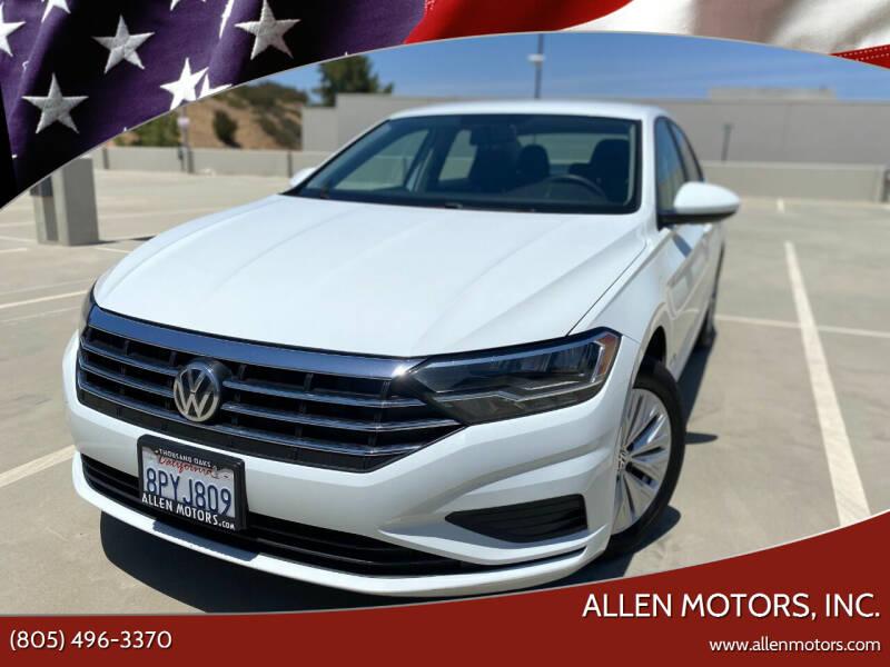 2019 Volkswagen Jetta for sale at Allen Motors, Inc. in Thousand Oaks CA
