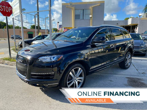 2013 Audi Q7 for sale at Global Auto Sales USA in Miami FL