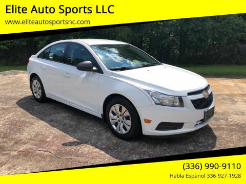 2014 Chevrolet Cruze for sale at Elite Auto Sports LLC in Wilkesboro NC