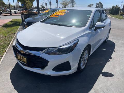 2019 Chevrolet Cruze for sale at Soledad Auto Sales in Soledad CA