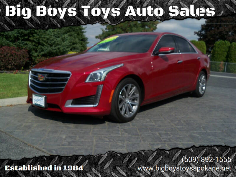 2016 Cadillac CTS for sale at Big Boys Toys Auto Sales in Spokane Valley WA