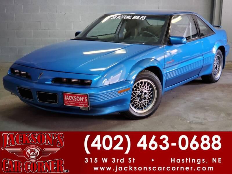 1992 Pontiac Grand Prix for sale at Jacksons Car Corner Inc in Hastings NE