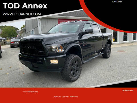 2018 RAM Ram Pickup 2500 for sale at TOD Annex in North Dartmouth MA