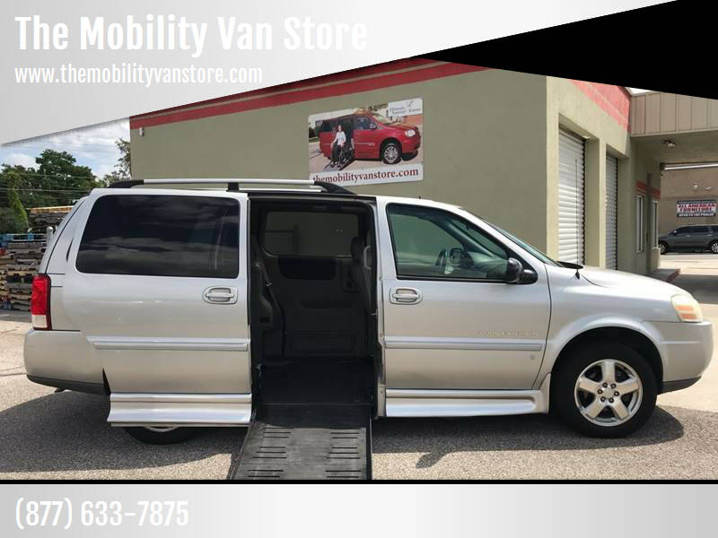 2007 Chevrolet Uplander for sale at The Mobility Van Store in Lakeland FL