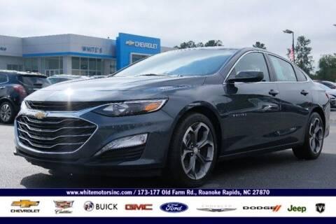 2020 Chevrolet Malibu for sale at WHITE MOTORS INC in Roanoke Rapids NC