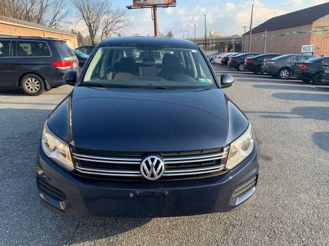 2013 Volkswagen Tiguan for sale at YASSE'S AUTO SALES in Steelton PA
