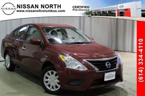 2019 Nissan Versa for sale at Auto Center of Columbus in Columbus OH