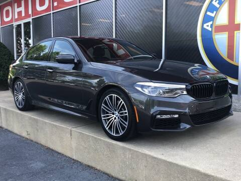 2017 BMW 5 Series for sale at Alfa Romeo & Fiat of Strongsville in Strongsville OH