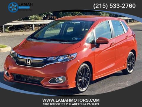 2018 Honda Fit for sale at LAMAH MOTORS INC in Philadelphia PA