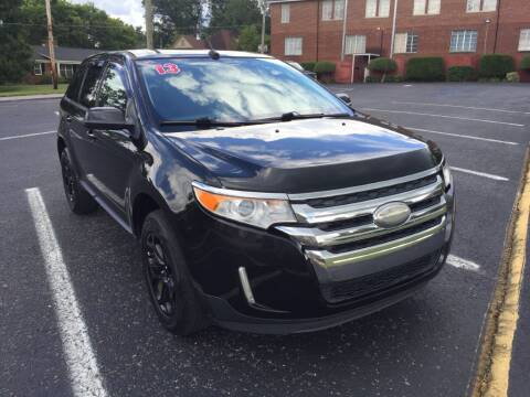 2013 Ford Edge for sale at DEALS ON WHEELS in Moulton AL