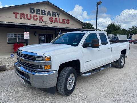 2015 Chevrolet Silverado 2500HD for sale at DEBARY TRUCK SALES in Sanford FL