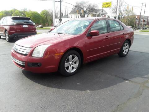2008 Ford Fusion for sale at Sarchione INC in Alliance OH