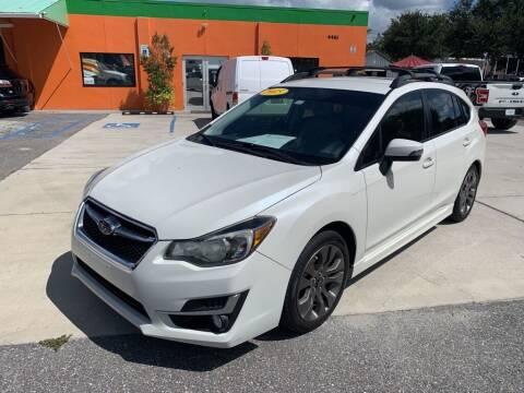 2015 Subaru Impreza for sale at Galaxy Auto Service, Inc. in Orlando FL