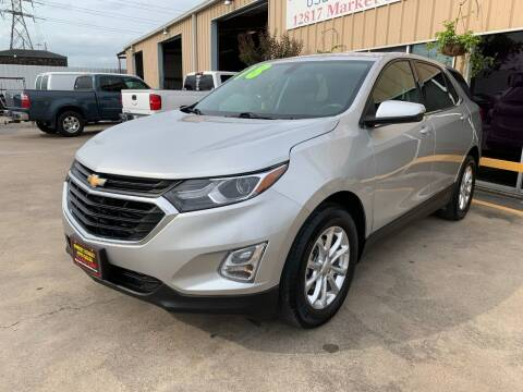 2018 Chevrolet Equinox for sale at Market Street Auto Sales INC in Houston TX
