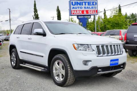 2013 Jeep Grand Cherokee for sale at United Auto Sales in Anchorage AK