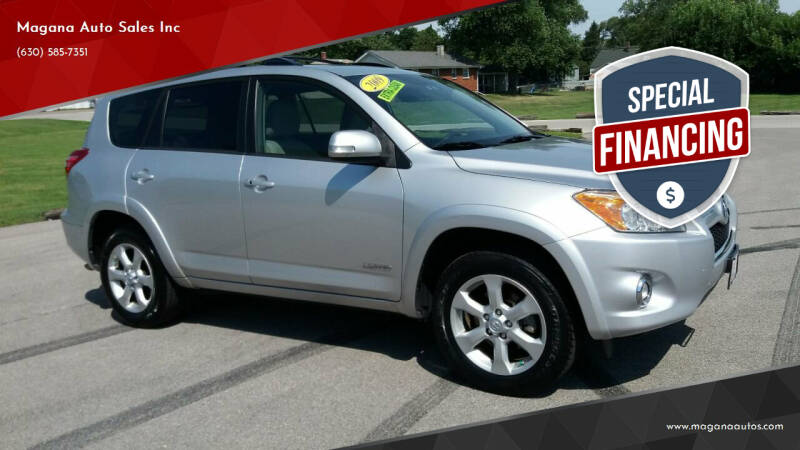 2009 Toyota RAV4 for sale at Magana Auto Sales Inc in Aurora IL