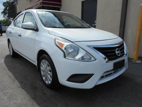 2017 Nissan Versa for sale at AutoStar Norcross in Norcross GA