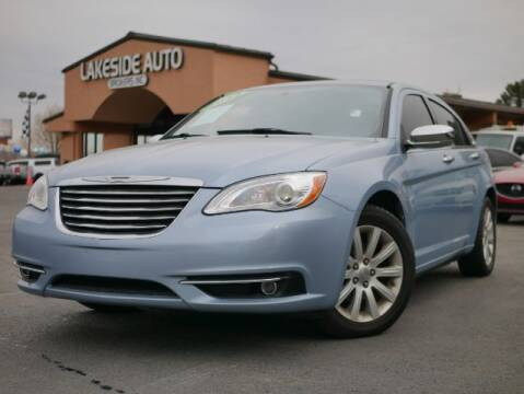 2013 Chrysler 200 for sale at Lakeside Auto Brokers in Colorado Springs CO