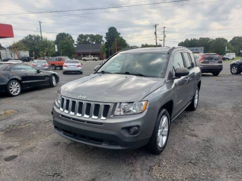 2012 Jeep Compass for sale at Lara's Auto Sales LLC in Concord NC
