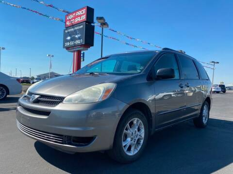 2005 Toyota Sienna for sale at Right Price Auto in Idaho Falls ID