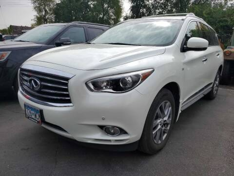 2015 Infiniti QX60 for sale at MIDWEST CAR SEARCH in Fridley MN