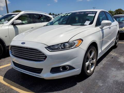 2014 Ford Fusion for sale at Barbie's Autos Corp in Miami FL