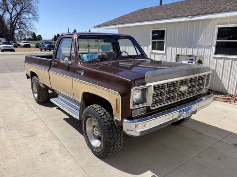 1977 Chevrolet C/K 20 Series for sale at B & B Auto Sales in Brookings SD