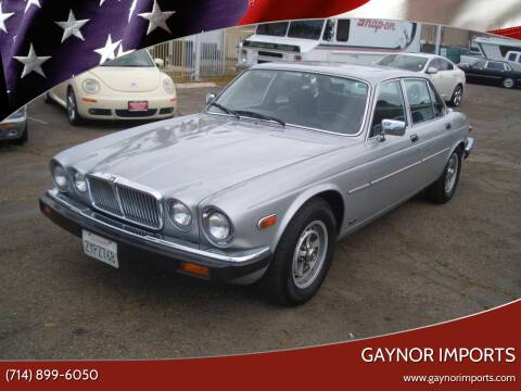 1987 Jaguar XJ-Series for sale at Gaynor Imports in Stanton CA