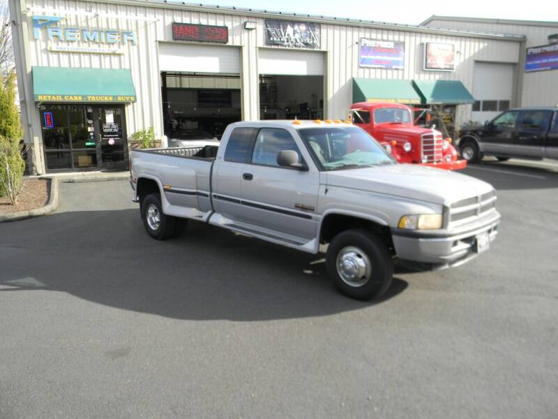 1999 Dodge Ram Pickup 3500 for sale at PREMIER MOTORSPORTS in Vancouver WA