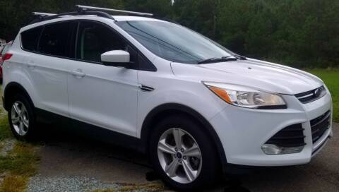 2015 Ford Escape for sale at Progress Auto Sales in Durham NC