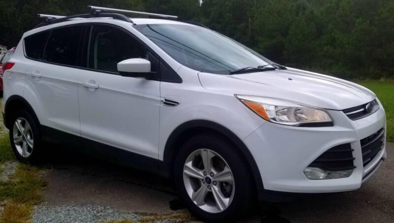 2015 Ford Escape for sale at Progress Auto Sales in Durham NC