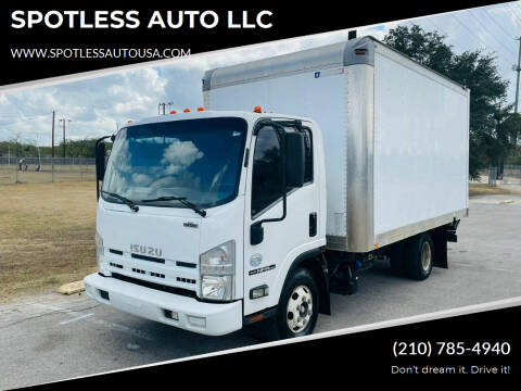2011 Isuzu NPR-HD for sale at SPOTLESS AUTO LLC in San Antonio TX