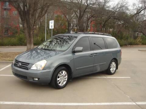 2007 Kia Sedona for sale at ACH AutoHaus in Dallas TX