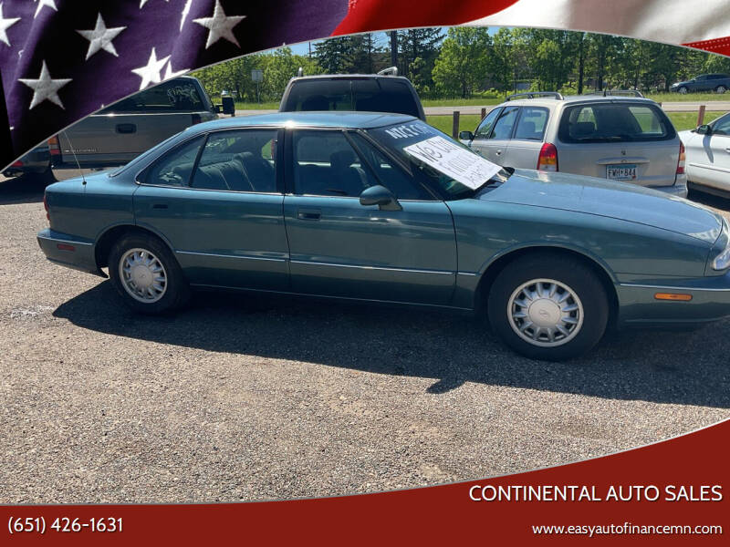 1998 Oldsmobile Eighty-Eight for sale at Continental Auto Sales in White Bear Lake MN