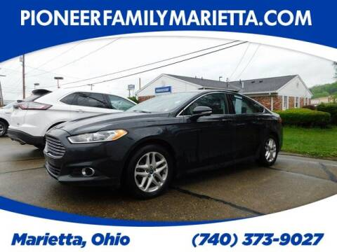 2014 Ford Fusion for sale at Pioneer Family preowned autos in Williamstown WV