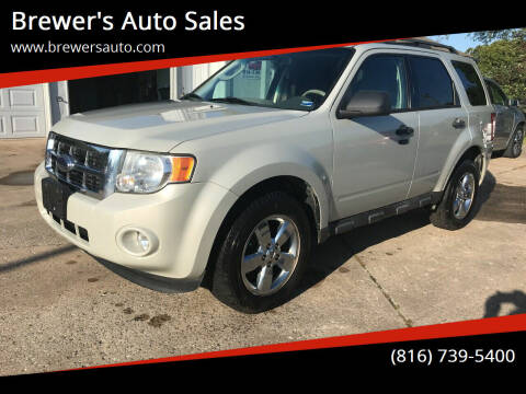 2009 Ford Escape for sale at Brewer's Auto Sales in Greenwood MO