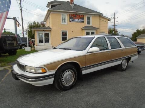 1996 Buick Roadmaster for sale at Top Gear Motors in Winchester VA