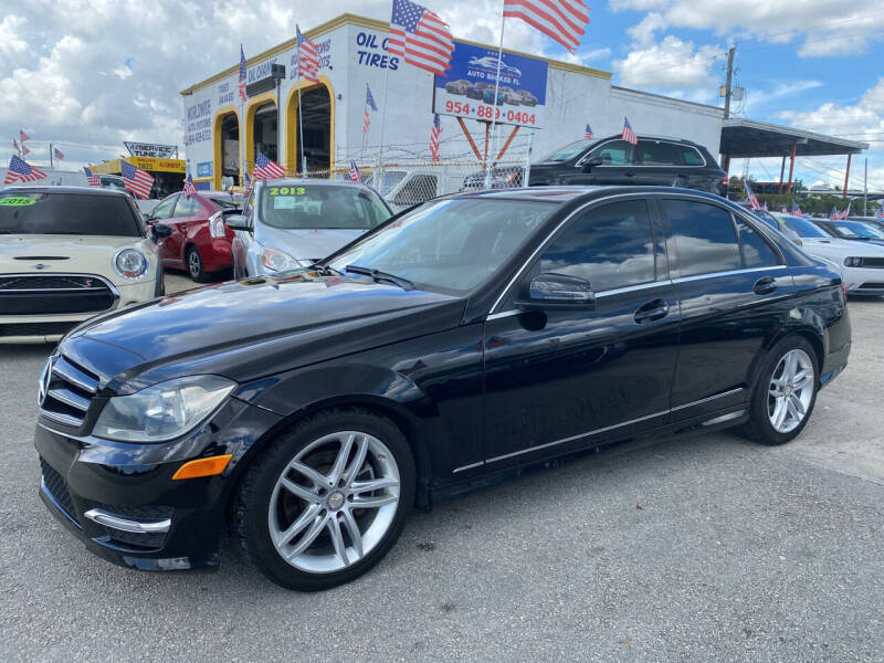 2013 Mercedes-Benz C-Class for sale at INTERNATIONAL AUTO BROKERS INC in Hollywood FL