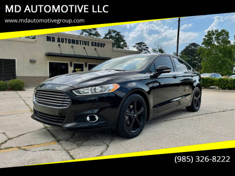 2016 Ford Fusion for sale at MD AUTOMOTIVE LLC in Slidell LA