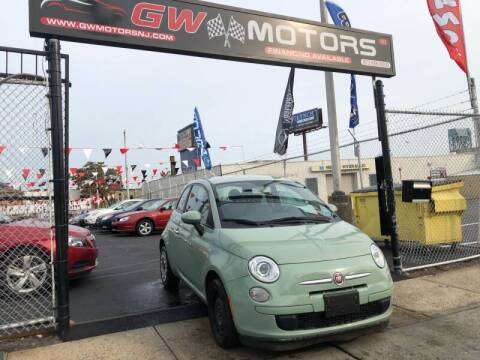 2013 FIAT 500 for sale at GW MOTORS in Newark NJ