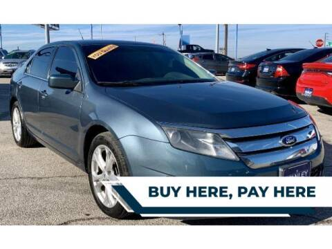 2012 Ford Fusion for sale at Stanley Automotive Finance Enterprise - STANLEY FORD ANDREWS in Andrews TX