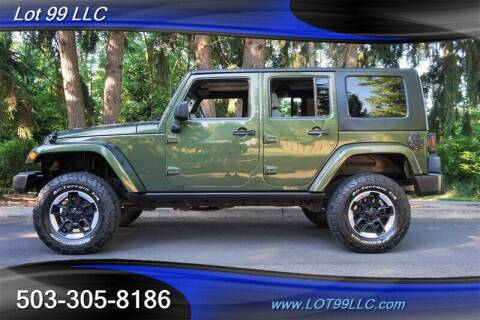 2008 Jeep Wrangler Unlimited for sale at LOT 99 LLC in Milwaukie OR