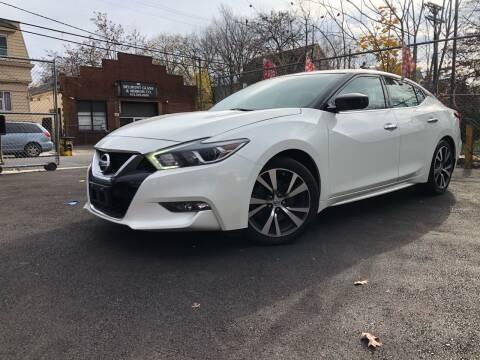 2017 Nissan Maxima for sale at Elis Motors in Irvington NJ