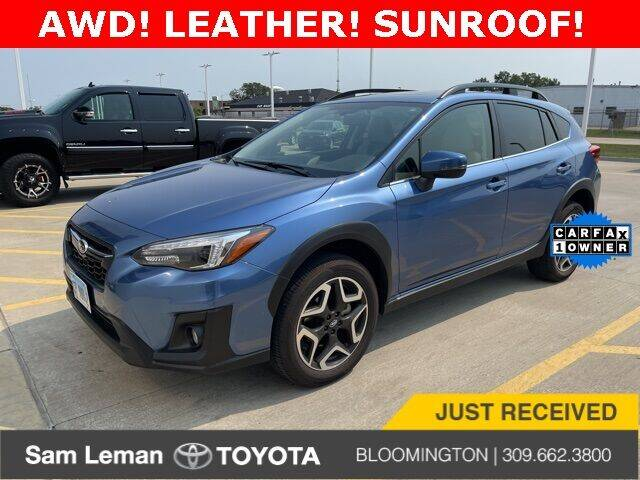 2019 Subaru Crosstrek for sale at Sam Leman Toyota Bloomington in Bloomington IL